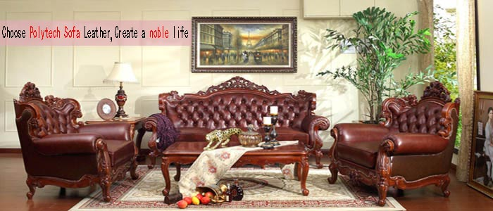 Choose Polytech Sofa Leather,Create a noble life